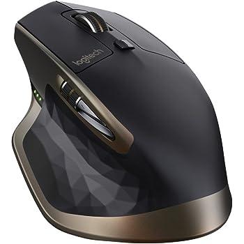 Logitech MX Master Mouse Wireless per Windows e Mac con Bluetooth e Unifying, Versione per Amazon, Nero
