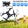 Cewaal Drone with WIFI 1080P Camera 120 Degrees Wide-angle Real-time Transmission,One Key Take Off/Landing/Return,Speed Switch,Trajectory Flight,Voice Control,Gravity Sensing High-end Drone for Flying