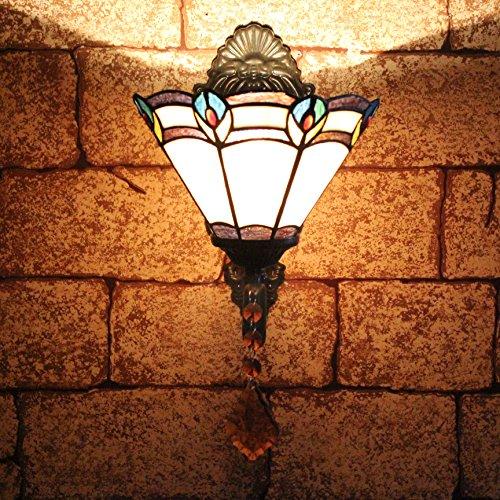 TOYM 8 pouces Applique sirène passerelle balcon allée lampes Tiffany minimaliste bar chic Applique