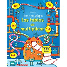 Las tablas de multiplicar. Libro con solapas