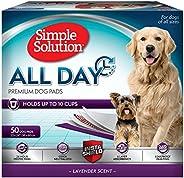 Simple Solution 6 st. högklassiga hundkuddar med lavendeldoft – 50-pack