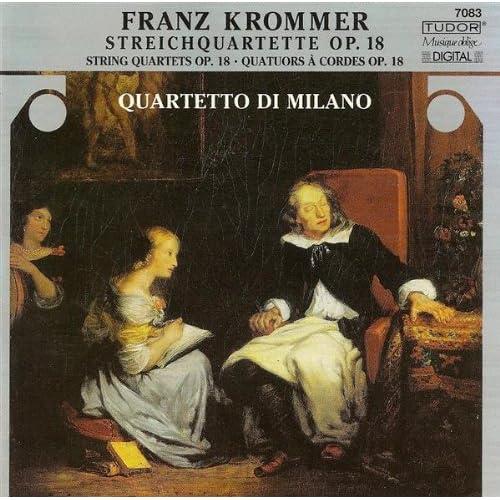 String Quartet in E-Flat Major, Op. 18, No. 3: IV. Presto