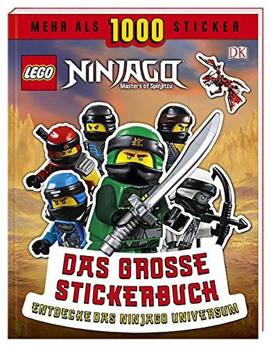LEGO NINJAGO Das große Stickerbuch: Mehr als 1000 Sticker. Entdecke das Ninjago Universum