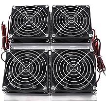 Refrigerador Termoeléctrico de 4 Chips Semiconductor de 240W Placa de Refrigeración con 4 Ventiladores