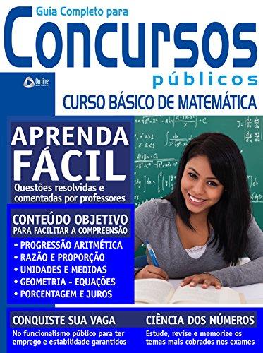 Guia para Concursos Públicos 11 – Matemática (Portuguese Edition) por On Line Editora
