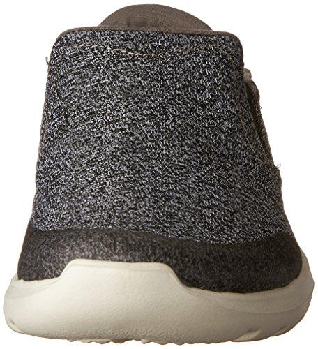 Crocs Herren Kinsale Statico Brogue, Grau Grau (carbone Di Legna / Perla / Weiß)