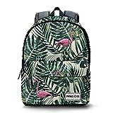 PRODG Flamingo Mochila Freestyle Tipo Casual, 42 cm, 21 Litros, Verde