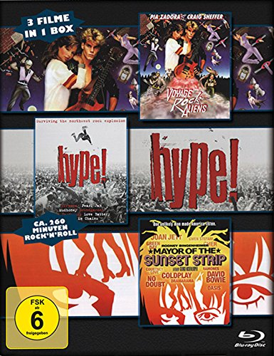 Hype! / Voyage of the Rock Aliens / Mayor of the Sunset Strip [3 Blu-rays] (Voyage Of The Rock Aliens)