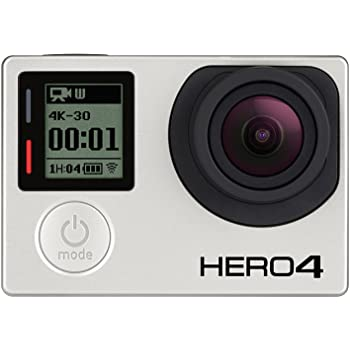 GoPro HERO4 Black Edition Adventure - Videocámara deportiva (12 Mp, Wi-Fi, Bluetooth, sumergible hasta 40 m)