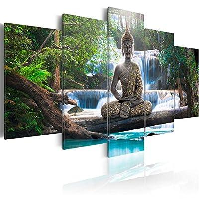 c-A-0021-b-n c-A-0021-b-o c-A-0021-b-p Buddha nature waterfall landscape tree forest rose orange - cheap UK light shop.