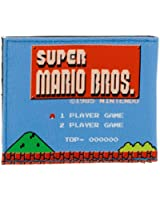 Nintendo Super Mario Bros 1985s Gaming Level Retro Gameplay Bi-fold Wallet Purse