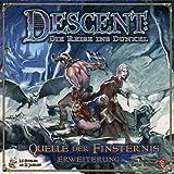 Heidelberger Spieleverlag HEI0VA28 - Descent: Quelle der Finsternis
