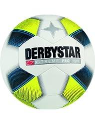 Derby Star Niños X-Treme Pro Light–Balón de fútbol, todo el año, infantil, color weiß blau gelb, tamaño 4