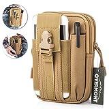 Overmont Multifunktional Taktisch Hüfttasche Gürteltasche Outdoor Sport Tasche Beutel für
