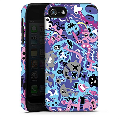 Apple iPhone 6 Housse Étui Silicone Coque Protection Bande dessinée Motif Motif Cas Tough terne