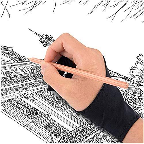 Preisvergleich Produktbild Bainuojia Digital Artist Drawing Glove for Graphics Tablet- 2 Woman Gloves by Stargoods