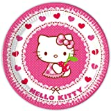 Hello Kitty Partyteller 8 Stck.