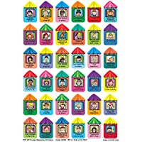 C.S. Kids PYP Attitudes Rewards Stickers (Pack of 186)