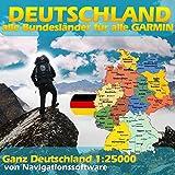 Allemagne Carte Topo Hauteur lignes 4GB MicroSD Garmin Edge 705Dakota 20Nüvi Vélo Randonnée Randonnée Trekking Geocaching Outdoor pour Garmin appareils & Outdoor randonnée GPS de neuf