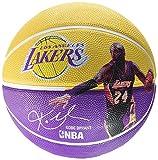 Spalding Pallone da Basket NBA Kobe Bryant Player 83-342Z, Giallo/Lilla, 7, 3001586010117