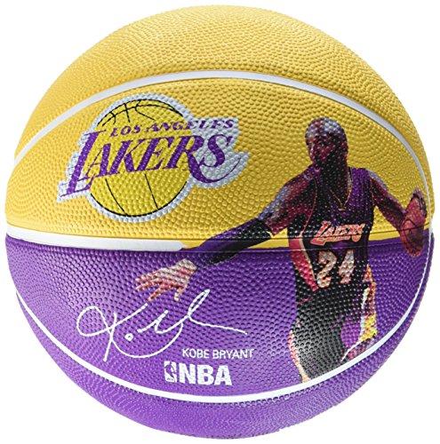 Spalding NBA Player Balle Kobe Bryant Basket-Ball Taille 7Standard, Standard