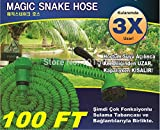 Pinkdose® Free Shipping 1X 100Ft Retractable Hose Water Pipe After 30 Meters Hose