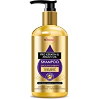 StBotanica Pro Keratin & Argan Oil Smooth Therapy Shampoo, 300ml - Intense Hair Repair For Dry, Damaged & Color Treated…