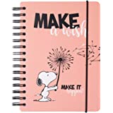 ERIK - Cuaderno de notas A5, Bullet Journal Snoopy (15,6x21,6 cm)