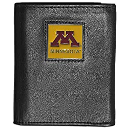 NCAA Minnesota Golden Gophers Deluxe Leather Tri-fold Wallet