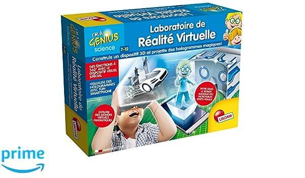 Lisciani - FR59492 - Jeu Educatif - Laboratoire De Réalité ...