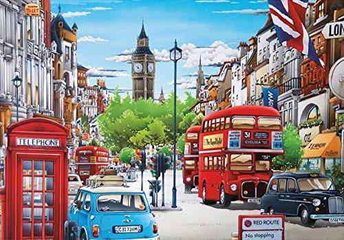 5D DIY Diamond Painting Cross Stitch, Decoration of House Living Room,Big Ben, London