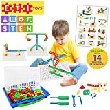 ETI Toys Kit of Screws for Boys and Girls 92 Piece set for building Engineering designs! Great for Learning, Developing and Having Fun. Engineer your design Today!