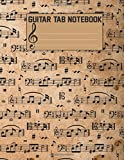 Guitar Tab Notebook: Blank Sheet Music for Guitar: Volume 4