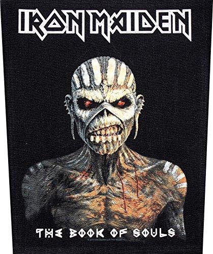 Unbekannt Iron Maiden Toppa per la Schiena, Motivo: The Book of Souls