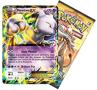 Pokémon - Pack 1 Booster + 1 Carte Promo Mewtwo EX 170PV (en Français)