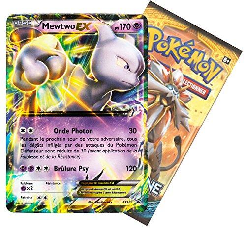 Pokémon – Pack 1 Booster + 1 Carte Promo Mewtwo EX 170PV (en Français)