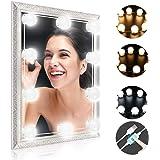 Schminktisch Beleuchtung, Winzwon Hollywood-Stil LED Spiegelleuchte, Schminktisch Spiegel Lichter für Kosmetikspiegel…