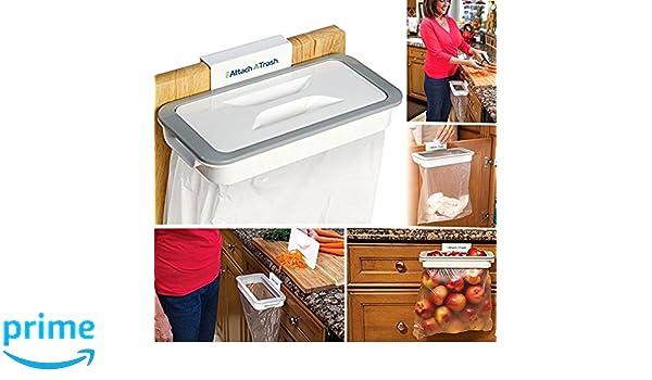 Briefumschl/äge M/üllbeutel Haken Schubladen T/üren M/öbel S/äcke Taschen M/ülltrennung Recycling K/üche M/ülleimer attach-a-trash Damastoreitalia