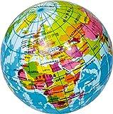 Spiegelburg Knautschball Weltkugel Ball als Globus, Ø 6,5 cm