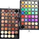 #8: WILLTOO Cosmetic Matte Eyeshadow Cream Makeup Palette Shimmer Set 40 Color Size:5.8cm*5.8cm Hot Pink