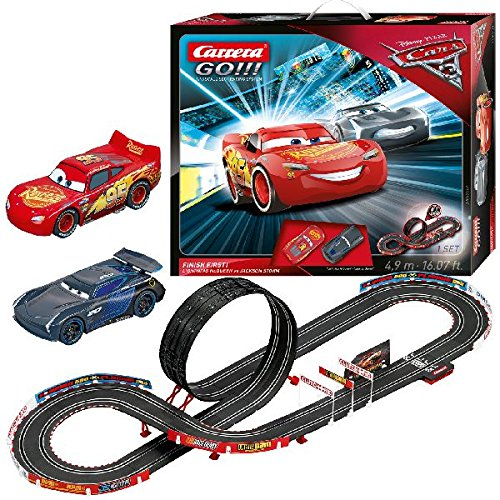 Carrera Go!!! 20062418, Finish First con Disney Cars 3