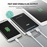 Power Bank RAVPower 16750mAh External Battery Pack Portable Charger with iSmart Technology for iPhone XR XS MAX, Galaxy S9 / S8 and more Mobile Phones - Black Bild 3