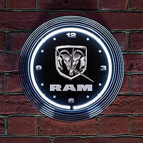 DODGE RAM CLOCK- Real Neon (not LED)