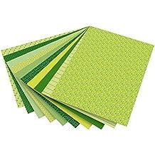Tonpapier 10er Pack 130 g//qm 50x70 cm Hellgrün