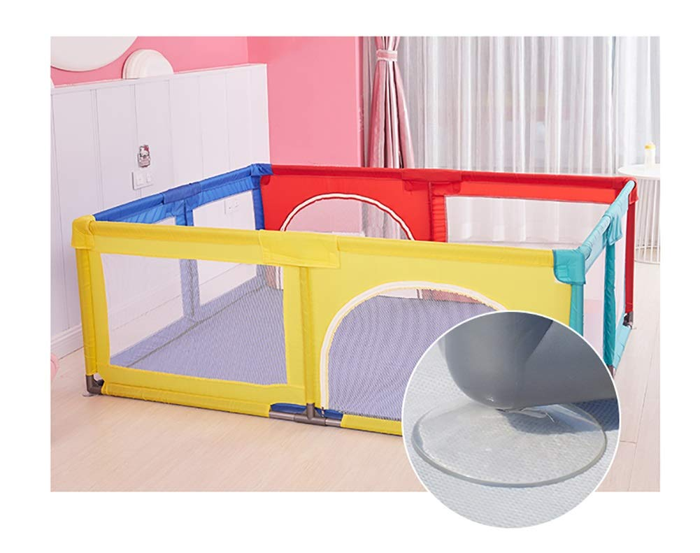 Playpens Baby, Safety Play Yard, Kids Activity Center, Indoor and Outdoor Protective Fence for Toddler/Boy/Girl Playpens  3