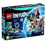 Warner Lego Dimensions - Starter PackWarner Sw WiiU 603362 Lego Dimensions-Starter PSpecifiche:PiattaformaWiiUGenereAzioneClassificazione PEGI7+LinguaItalianoNr di DLC InclusiLEGO Dimensions videogame LEGO Toy Pad Bricks to build the LEGO Gateway 3 L...