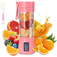 Blender portable,électrique Mixeur Smoothie,Mini Blender Mélangeur Pour Smoothie, Mixeur de Fruits Portable 380 ml, 6…