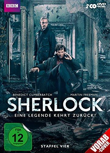 Preisvergleich Produktbild Sherlock - Eine Legende kehrt zurück! Staffel vier [2 DVDs]