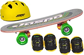 "Jaspo Eagle Eye Intact Junior Skateboard Combo (18*5"" ) (Skateboard+hemet+elbow+knee+) (for age group upto 6 years)"