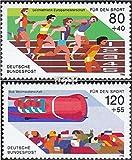 BRD (BR.Deutschland) 1269-1270 (kompl.Ausgabe) 1986 Sporthilfe (Briefmarken für Sammler)